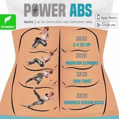 Manifestation Law Of Attraction Discover POWER ABS Be prepared to feel those abs burning. Super strong abs with super powerful workouts. Target your full abdominal muscles with these 4 workouts to reach that 6 pack ab goal. Fun Workouts, At Home Workouts, Bora Malhar, Lady Fitness, Scissor Kicks, Band Workout, Fitness Video, Workout Bauch, Flexibility Workout