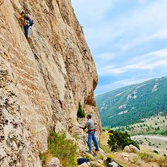 Climb to your heart's content in Lander, WY - Summer Vacation Ideas - Sunset