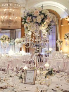 New Ideas Vintage Wedding Ceremony Decorations Centerpieces Vintage Glamour Wedding, Glamorous Wedding, Elegant Wedding, Floral Wedding, Wedding Flowers, Vintage Weddings, Luxe Wedding, Timeless Wedding, Wedding Set