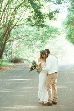Real Wedding / Luke & Gayle / Bohemian Fields