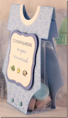 What an awesome idea for a baby shower favor.