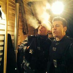 Chicago P.D. | Jason Beghe (Voight) and Jon Seda (Antonio)