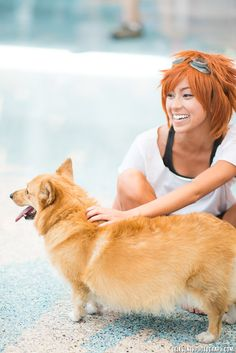Ed and Ein. Going to squee for the next few hours....