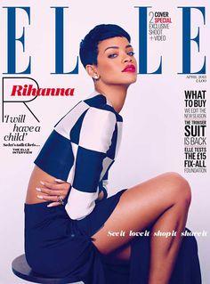 Fashionably Fly: Rihanna for Elle