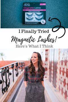 $12 Magnetic Lashes - Here's What I Think.. Eyebrows, Eyeliner, Fake Lashes, Eyelashes, Mascara, Eyelash Kit, Prevent Ingrown Hairs, Magnetic Lashes, Makeup Essentials