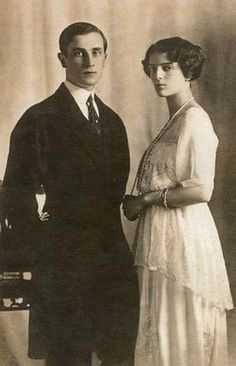 Felix and Irina Yusupov.  They both survived the revolution. Felix was born into one of the most wealthy and influential families in Russia.  He married the niece of the Tsar.  Her mother was Xenia Alexandrovich Romanovna.  It was Felix who was a principal player in the assassination of Rasputin.