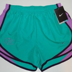 Monogrammed Nike Shorts