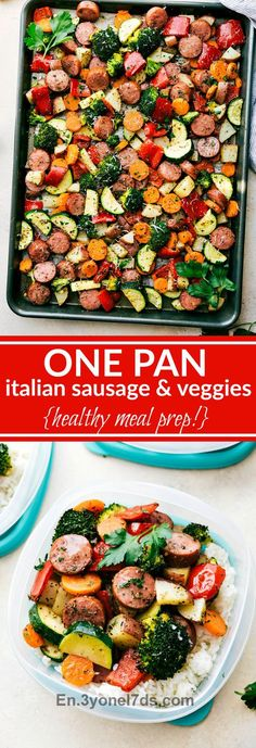 Delicious Italian-seasoned veggies and sausage all made in one pan. A great and healthy meal prep idea! video tutorial My toddler goes to preschool two times a week and when he comes home he's sup  Follow us in our website for more Fashion designs : https://en.3yonel7ds.com/food_drink