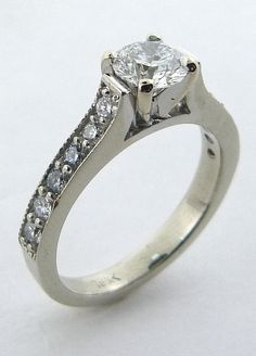 Classic Engagement ring  www.troyshoppejewellers.com