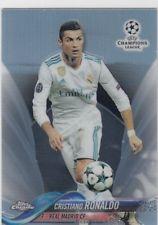 2018 Topps Chrome UEFA Champions League Cristiano Ronaldo Refractor