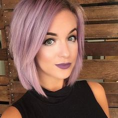Hair color and makeup
