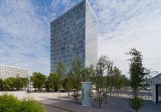 Roche Building 5, 2010, Rotkreuz, by Burckhardt & Partner