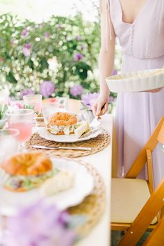 Mother's Day Ladies Luncheon - Going for Grace Luncheon Menu, Ladies Luncheon, Quiche Lorraine, Chicken Salad Croissant, Dessert Salads, Tortellini Soup, Most Beautiful Gardens, Pastries, Lunch Menu