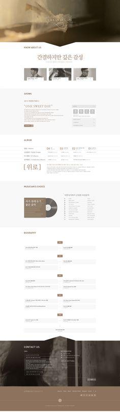 욱스웹디자인아카데미 UI/UXdesign/ Web design/UI/UX디자인/웹디자인 Web Design, Page Design, Layout Design, Graphic Design, Web Portfolio, Portfolio Design, Korean Design, Text Layout, Ui Web