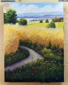 landscape paintings 10 h bsche Landschaftsbilder f r Wohnkultur Malen Tutorial Videos Teil 6 10 h bsche Landschaftsbilder f r Wohnkultur Malen Tutorial Videos Teil 6 Karin Junker Kunst 10 h bsche Landschaftsbilder f r nbsp hellip Types Of Painting, Painting Videos, Painting Techniques, Painting Tutorials, Painting Pictures, Home Decor Paintings, Your Paintings, Landscape Paintings, Landscapes To Paint