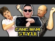 Hilarious things happen when youth culture and aging adults collide.  Seniors React to Gangam Style