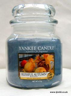 Yankee Candle Blissful Autumn Housewarmer Jar