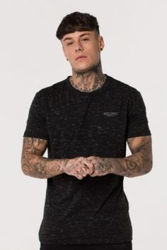 Muscle Monkey - Dark Matter Short Sleeve Tee | Looking for a brand that combines premium fashion trends and ultimate performance fabric? Look no further than Muscle Monkey! Available now @ Urban Celebrity!
