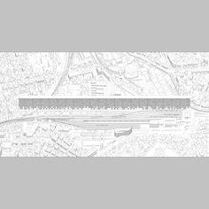 Venus. Proposal for 800 social housing units at Vieusseux-Villars-Franchises, Genève, 2013. dogma atelier.