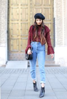 30 New Ways to Make Mom Jeans Look Cool | StyleCaster
