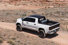 2014 Toyota Tundra Rear Drivers Side Birds Eye View