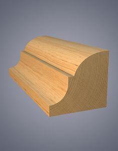 Pattern No. Oak Handrail, Dining Room Furniture Design, Picture Rail, Timber Mouldings, Base Moulding, Cedar Shingles, Architrave, Decorative Mouldings