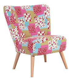 Einzelsessel design  Μια άνετη πολυθρόνα, σε ένα υπέροχο Patchwork, σε αποχρώσεις γκρι ...