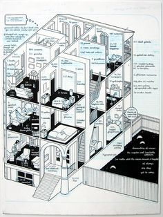 Chris Ware: The New York Times. (September 23rd, 2000) Introduction 3., 2005: at Adam Baumgold Gallery