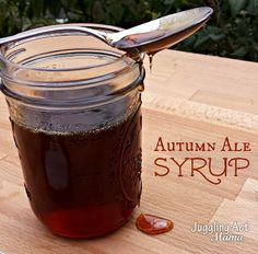 Autumn Ale Syrup via Juggling Act Mama #spikedchallenge