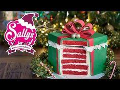 Alle Jahre wieder - eine Weihnachtstorte / Motivtorte Geschenkbox - 02.12.15 - So haben sich Murat und Saly kennengelernt, reden über Filme, Weihnachtsbutton in der Ecke - YouTube