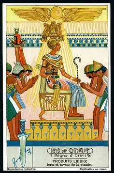 Liebig Tradecard S1280 - Isis & Osiris #1 | Flickr - Photo Sharing!