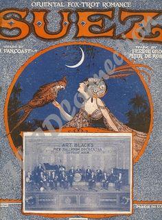 1923 Art Deco Oriental Fox Trot Romance