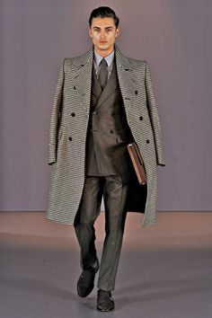 Something about a man in suit that just easy on the eye--Gieves & Hawkes | Fall 2014 Menswear Collection #menswear #fall2014