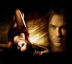 Vamipre Diaries Damon and Elena The Vampire Diaries, Vampire Dairies, Vampire Diaries The Originals, Tv Couples, Romance And Love, Hd Wallpaper, Beautiful People, Wonder Woman, Superhero
