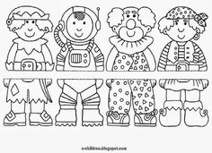 Faschingsbilder for coloring for children for free print . Colouring Pages, Coloring Sheets, Puzzle Photo, Theme Carnaval, Carnival Crafts, Educational Games, Free Prints, Art Plastique, Coloring Pages For Kids