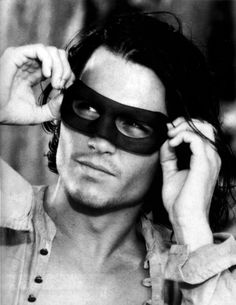 Johnny Depp - Oh my! I always had a thing for Zorro. Johnny in the mask makes me swoon!