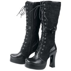 *Floral Lace Boots by Inamagura*