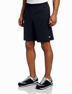 Champion Men's Jersey Short with Pockets, Granite Heather, XXX-Large: For more than 90 years, Champion athletic wear has outfitted athletes in authentic athletic apparel before, during and after the game. Gym Shorts, Sport Shorts, Workout Shorts, Athletic Outfits, Athletic Wear, Athletic Shorts, New Champion, Running Pants, Running Wear