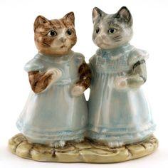 Beswick Beatrix Potter Figure, Mittens and Moppet, Royal Albert