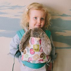 Amazon.com : LILLEbaby Doll Carrier- Turquoise w/Donut : Baby