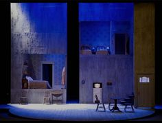 Death of a Salesman. Blue Bridge Repertory Theatre. Scenic design by Patrick Du Wors. 2009