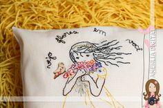 Amehlia Digital: Bordando Menininha - Veja flores... ame a natureza!