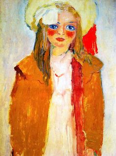 Dolly, the artist's daughter  by Kees Van Dongen (Dutch 1877-1968)