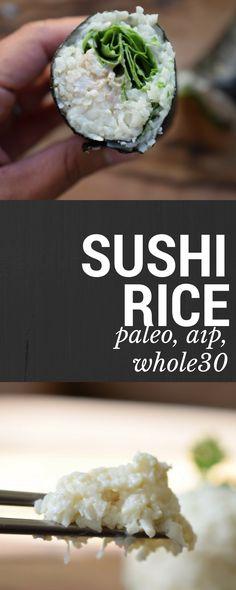 Sushi Rice (Grain Free, Paleo, AIP) – Castaway Kitchen