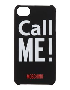 Moschino iPhone Case - Call Me! from Bloomingdale's on Catalog Spree, my personal digital mall. Moschino, Cute Phone Cases, 5s Cases, Iphone Holder, Red Accessories, Iphone 5s, Apple Iphone, Call Me, Iphone Case Covers