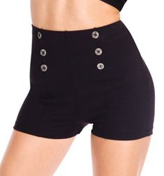 Natalie Adult High Waist Sailor Short, $24.10 from Discount Dance Supply