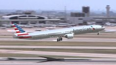 American Airlines new livery on the 777-300ER!