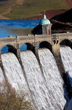 Elan Valley Dam, Wales