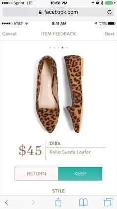 345570b90f7 Stitch Fix Summer Styles  Leopard Print Loafers
