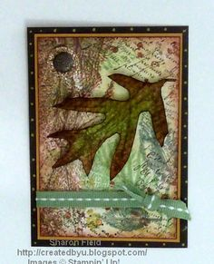 French Foliage Fall ATC by sharonstamps - Cards and Paper Crafts at Splitcoaststampers